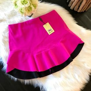 Bardot Hot Pink Mini Skirt